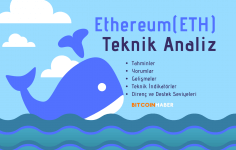 ETH/USD Teknik Analizi, Ethereum Fiyat Analizi