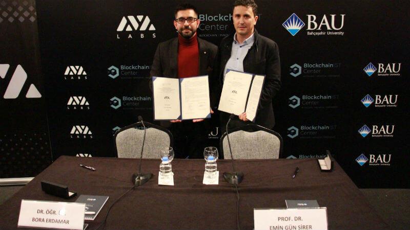 Türkiye'nin İlk Üniversite Blockchain Merkezi'nden Önemli Ortaklık