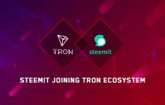 Steemit, Tron Blockchain'ine Geçiyor