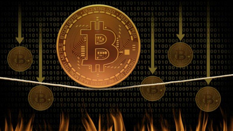 Piyasada Katliam Var: Bitcoin 8.000 Doların Altını Gördü!