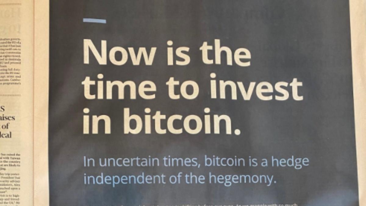 Bitcoin Artık Gazetelerde!