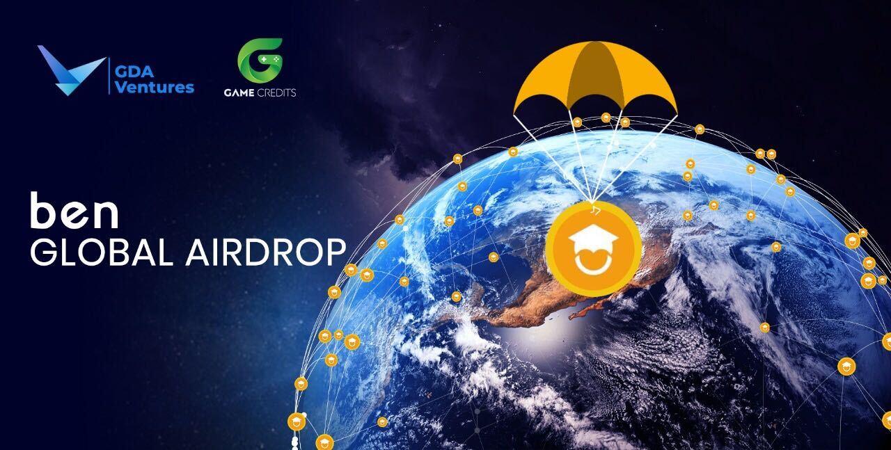 Blockchain Education Network (BEN) Airdrop'ları Başladı!