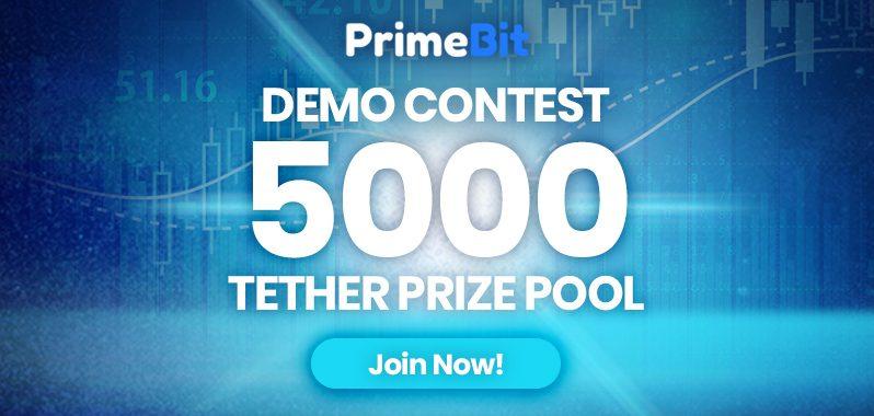 PrimeBit Demo Yarışmasında 5.000 USDT Ödül Dağıtıyor!
