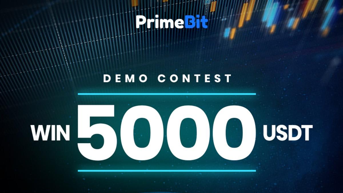 PrimeBit'ten 5000 USDT Ödüllü Yarışma: PrimeBit Demo İşlem Yarışması