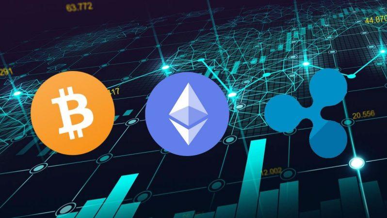 BTC, ETH Ve XRP'de Sinyaller Karıştı: Bitcoin, Ethereum Yükseliyor, Ripple Düşüyor!
